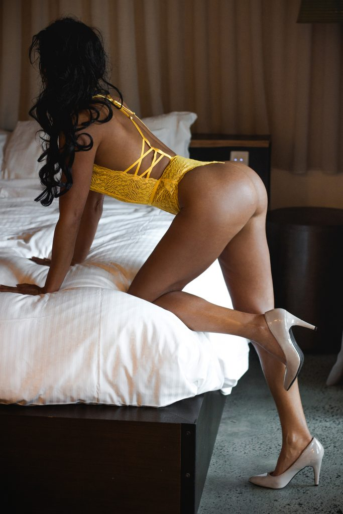 Sexy girl in Yellow